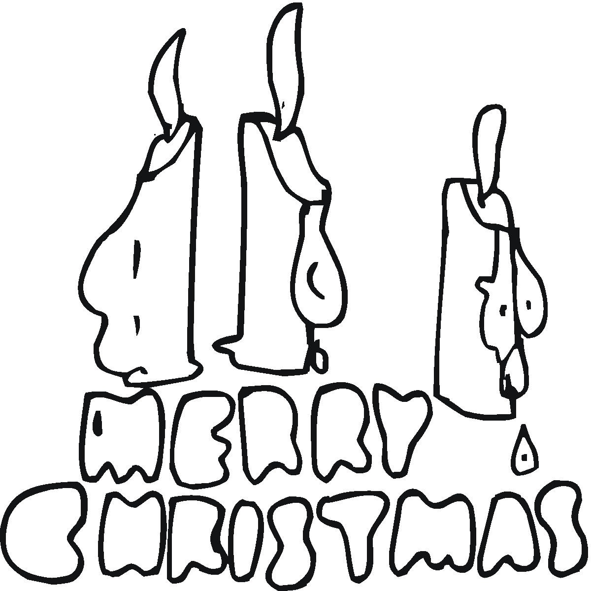 coloring page from santas workshopws merry christmas